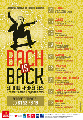 Affiche Bach is back